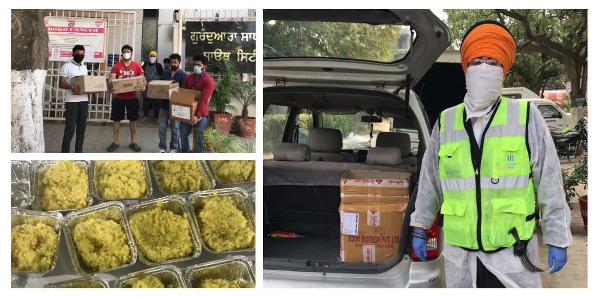 Langar Seva for families affected by Covid