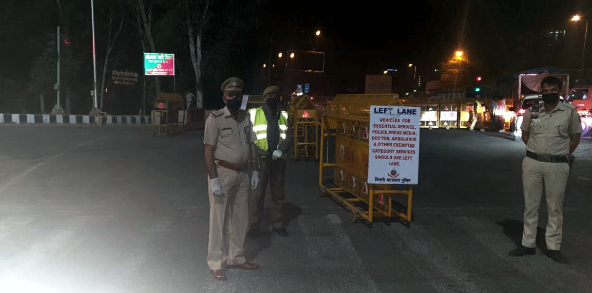 Night curfew imposed in Delhi as coronavirus cases