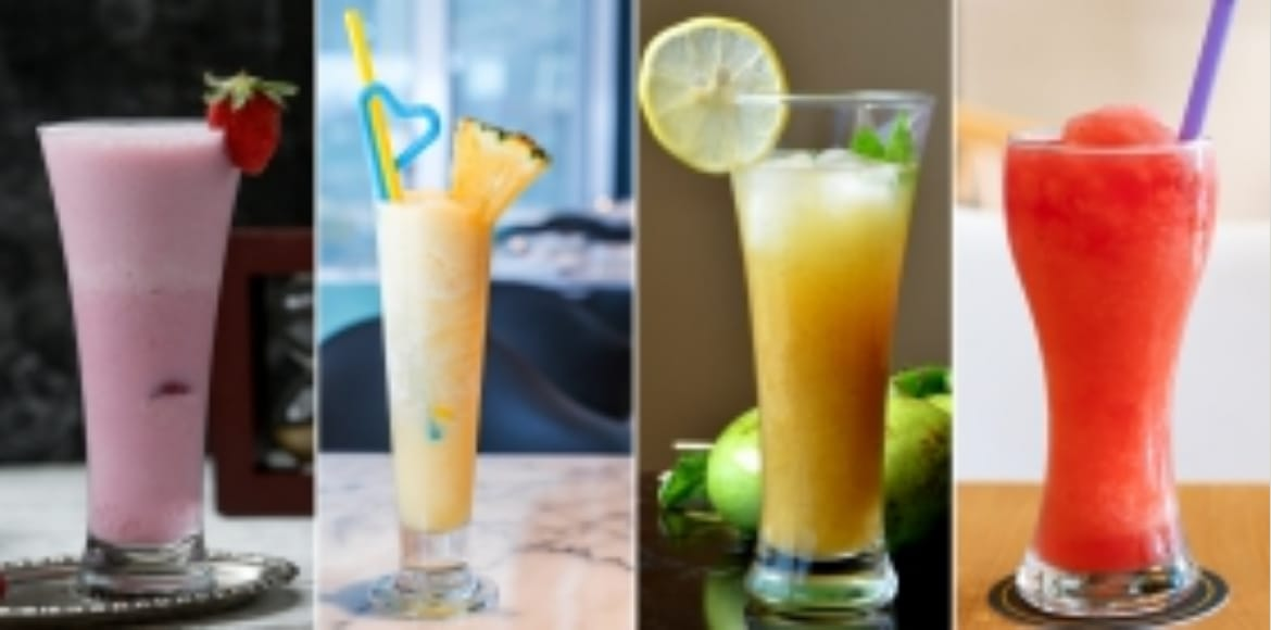 Yummy and healthy drinks to kickoff summers