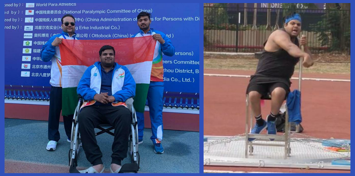 Para-athlete writes to CM to prioritise inoculation for the disabled