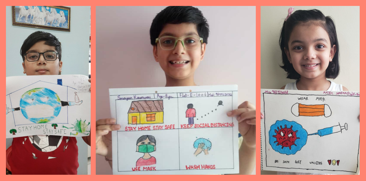 Express Zenith organises drawing competition with Covid awareness as theme