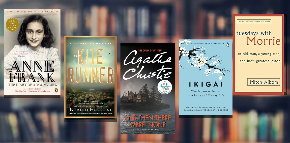 Five novels you can kickstart your reading with