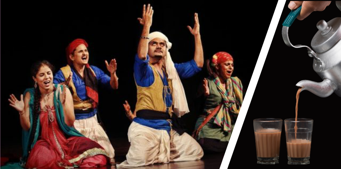 Theatre is incomplete without chai. Here's how