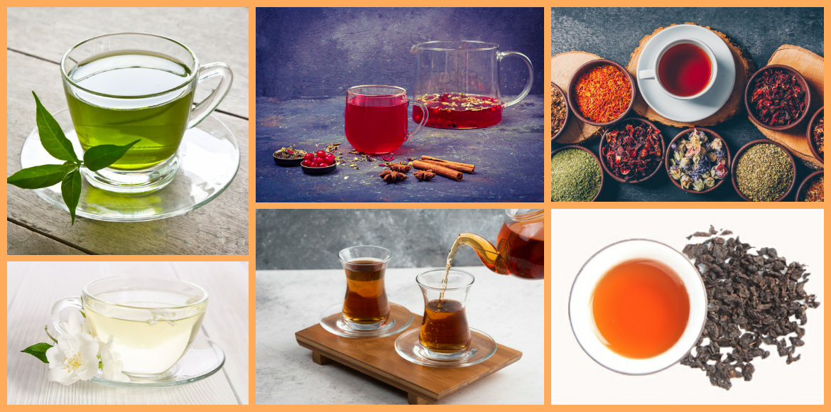6 types of tea every teetotaller must know about