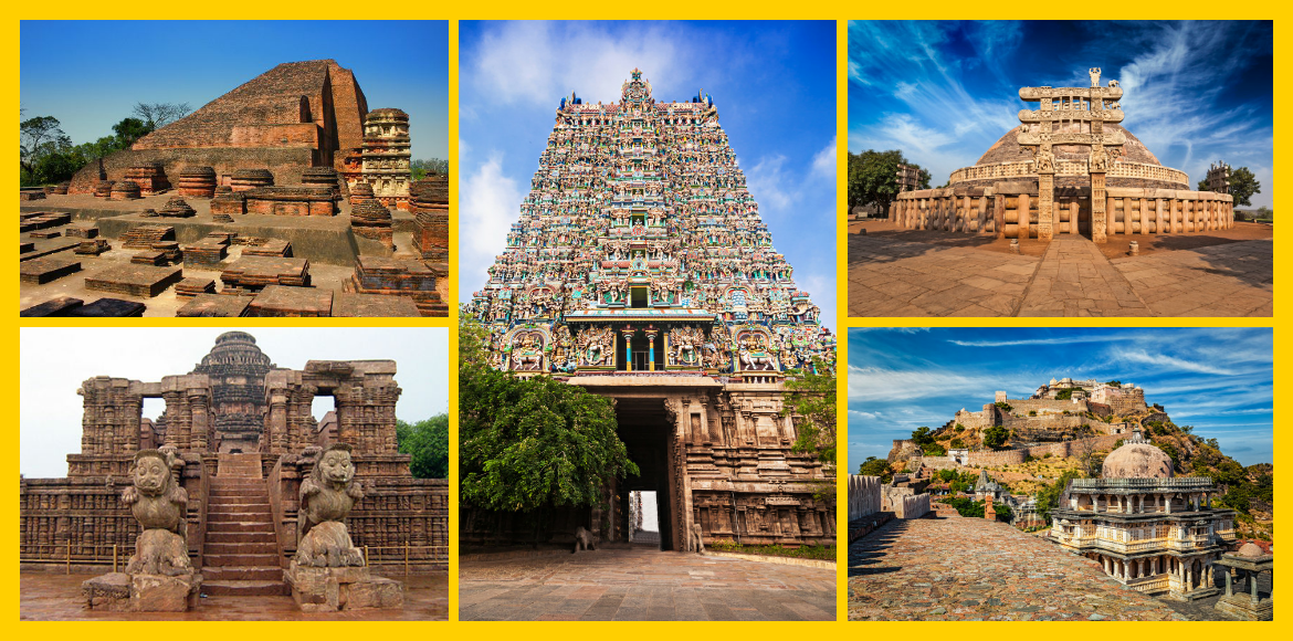 Top five archeological wonders in India
