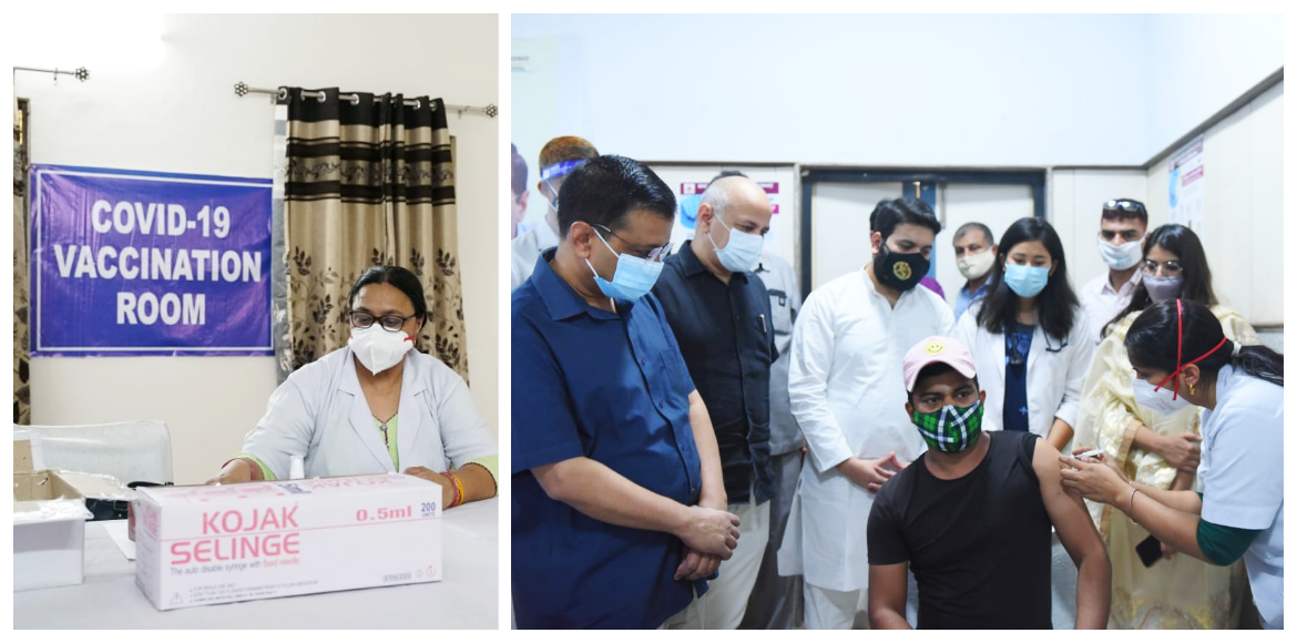 Free walk-in vaccination facility for journalists,