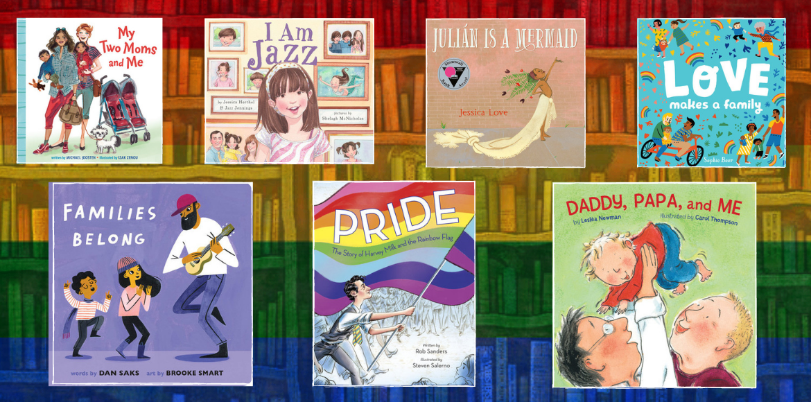 Books that normalise queer and teaches acceptance