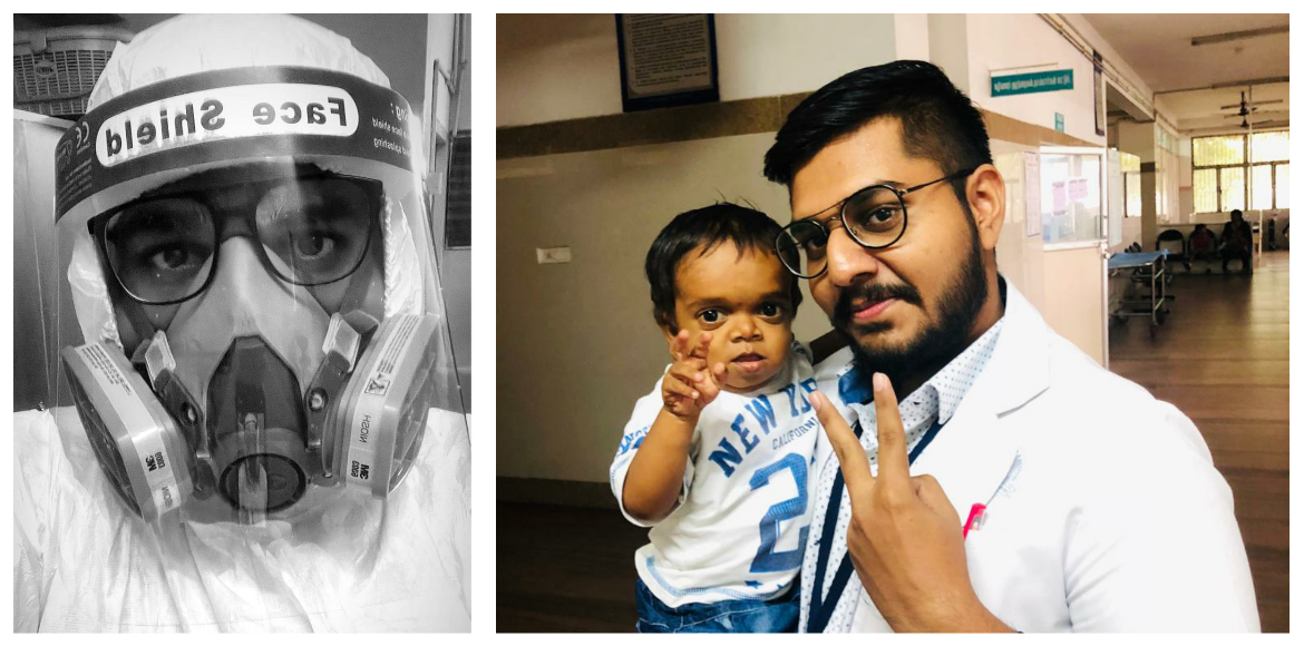 A viral post, a young doctor & his Covid-19 journey