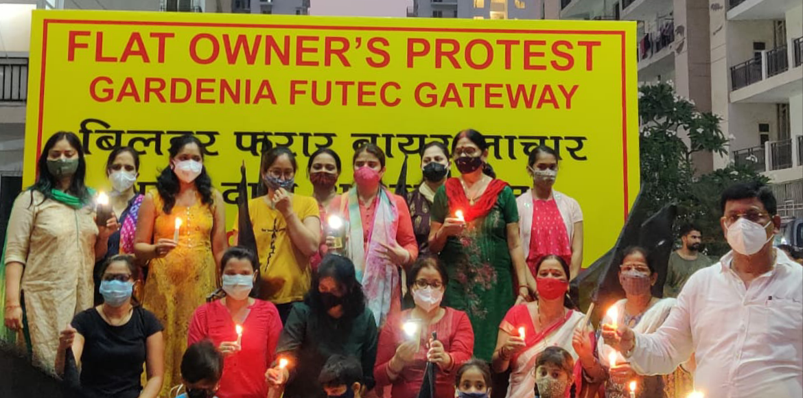 Futec Gateway: Residents protest against builder to demand basic amenities