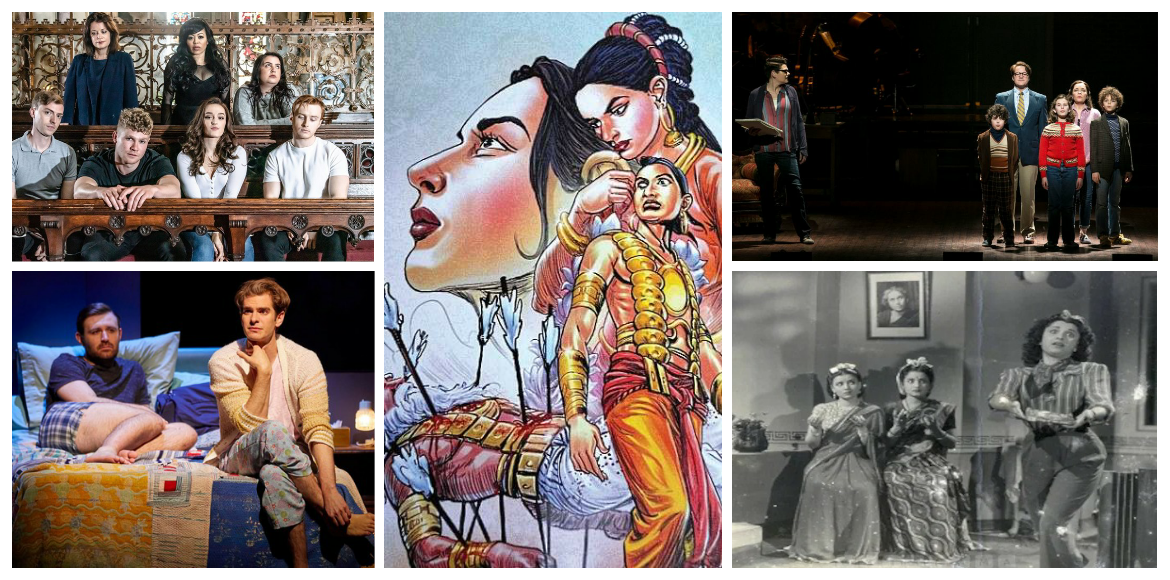 Theatre plays and musicals which were centred around LGBTQAI+ characters