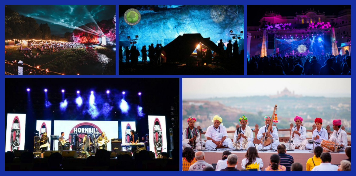 Highly sought-after music festivals in India