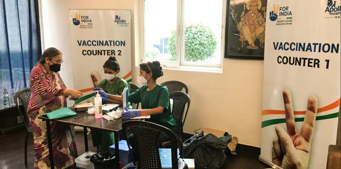 NOFAA facilitates 5,000 vaccinations in high-rise