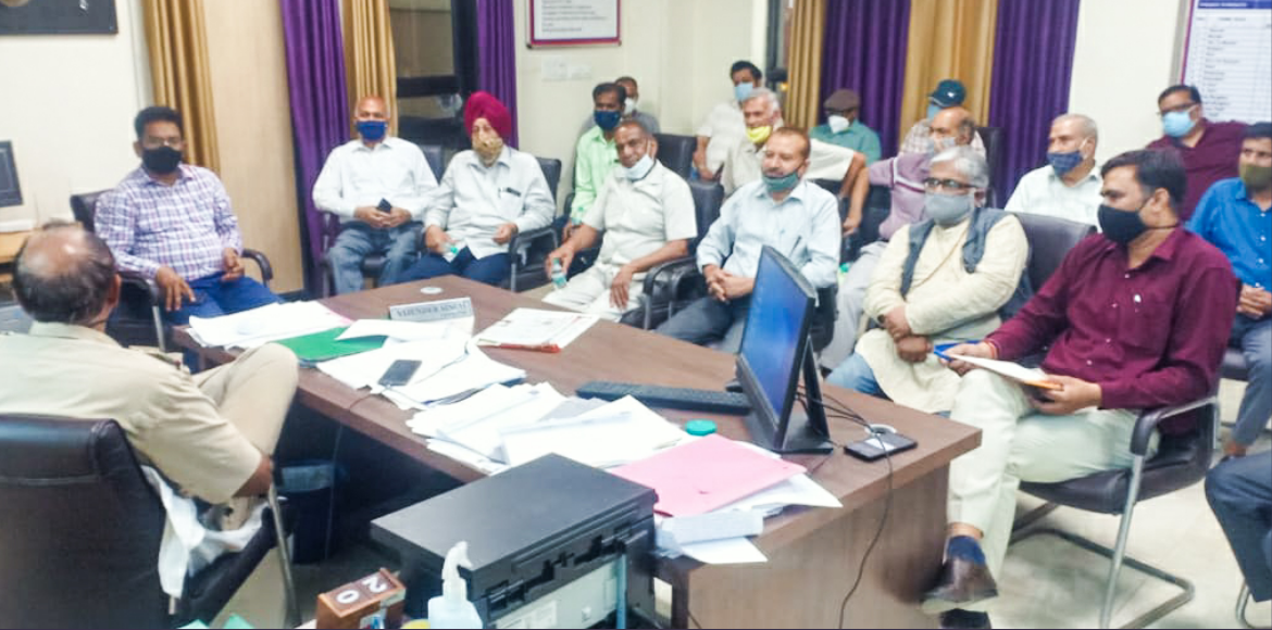 RWAs meet police to discuss Covid-19 guidelines in Dwarka