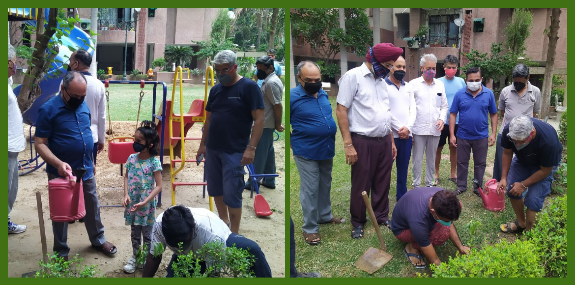 Residents start initiative for Green and Clean Dwarka
