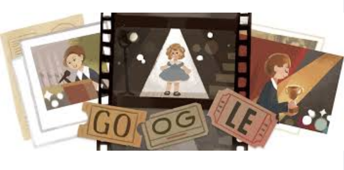 Google honours Shirley Temple with a doodle