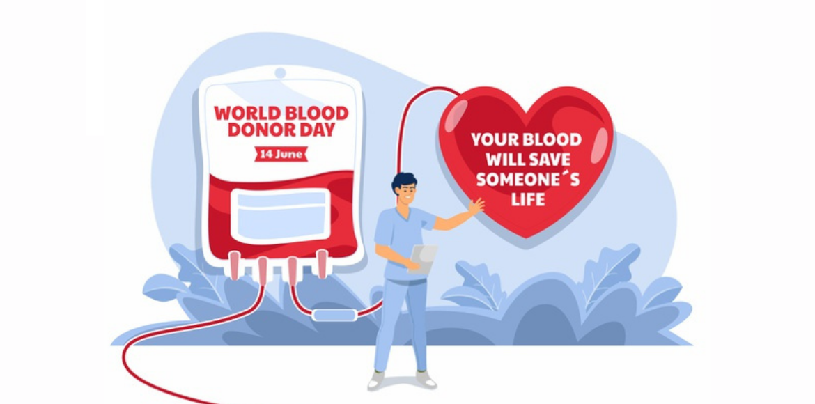 World Blood Donor Day: Donate blood, save lives