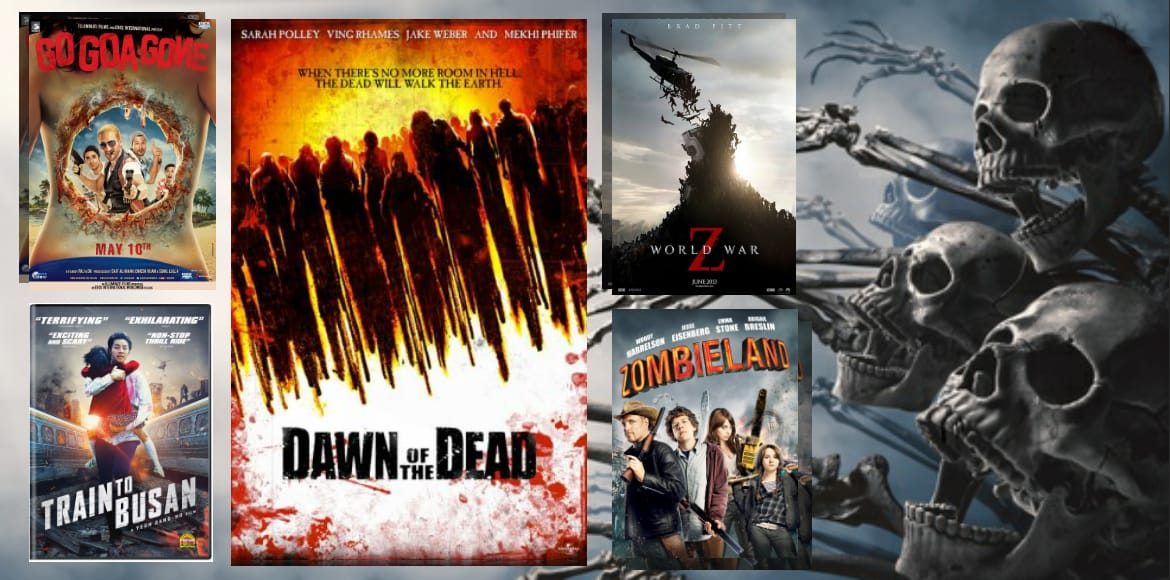 Save your guts while you watch these zombie movies