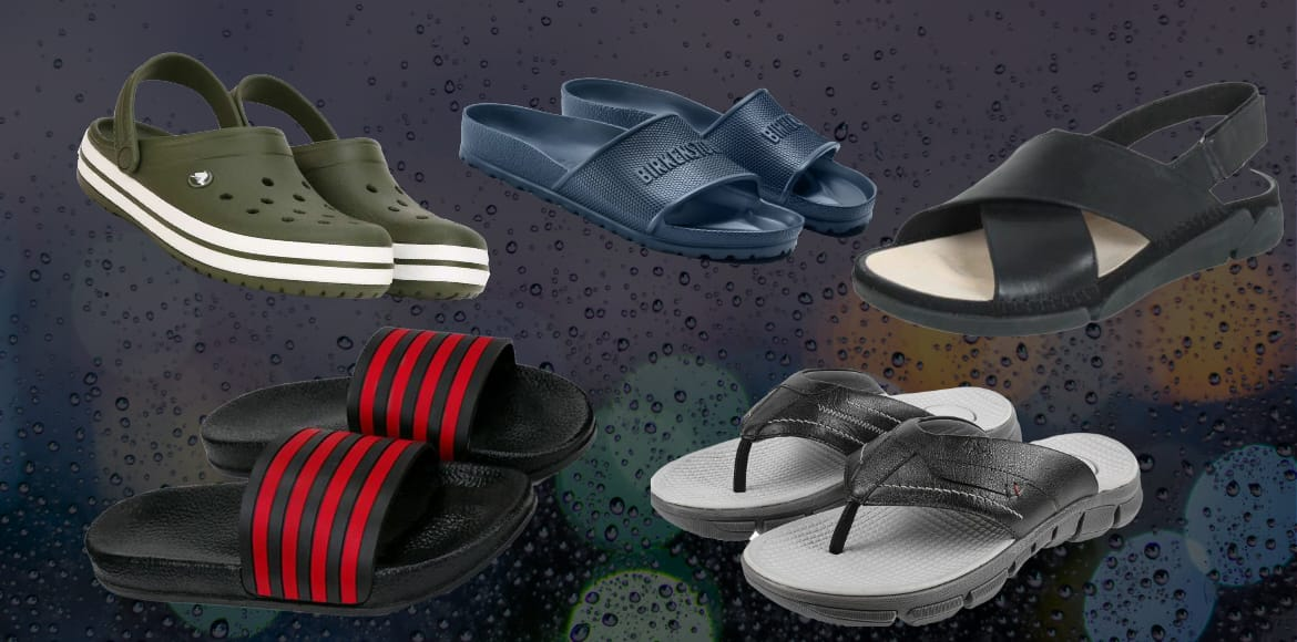 The only foolproof footwear you need in monsoons