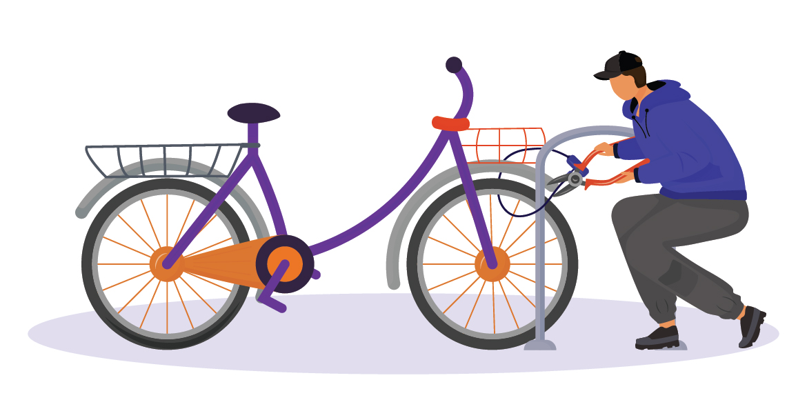 Stay alert! Cycles are getting stolen in Dwarka
