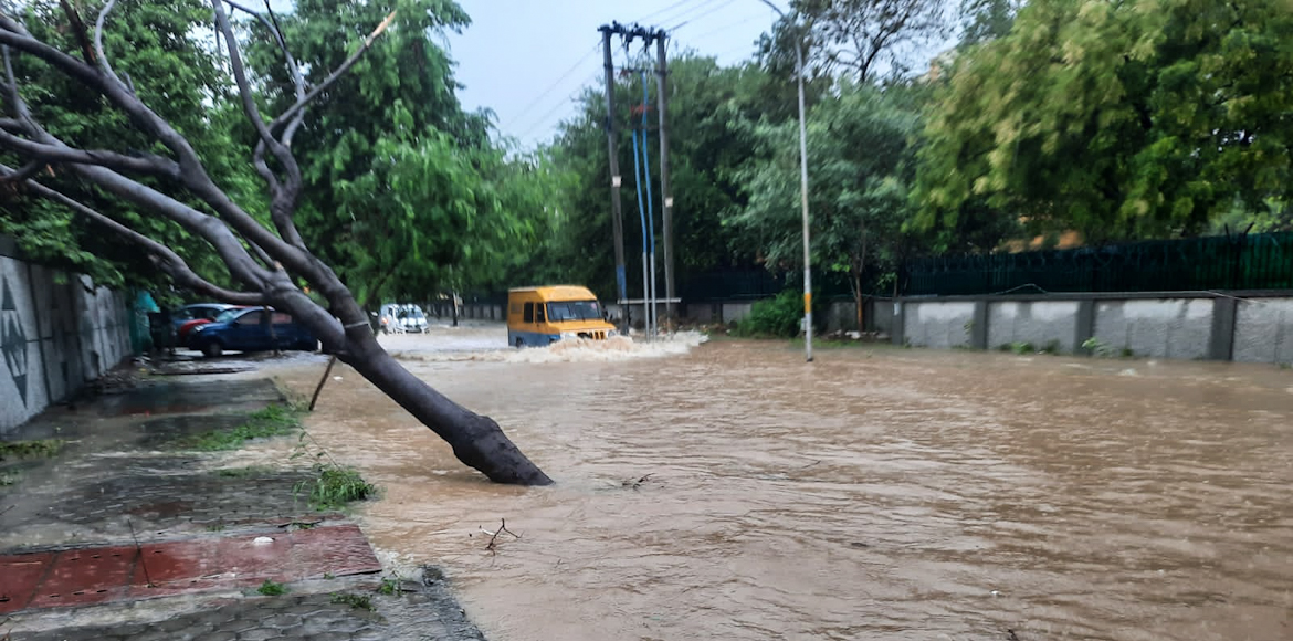 Dwarka: Inundation plagues residents in Sector 8