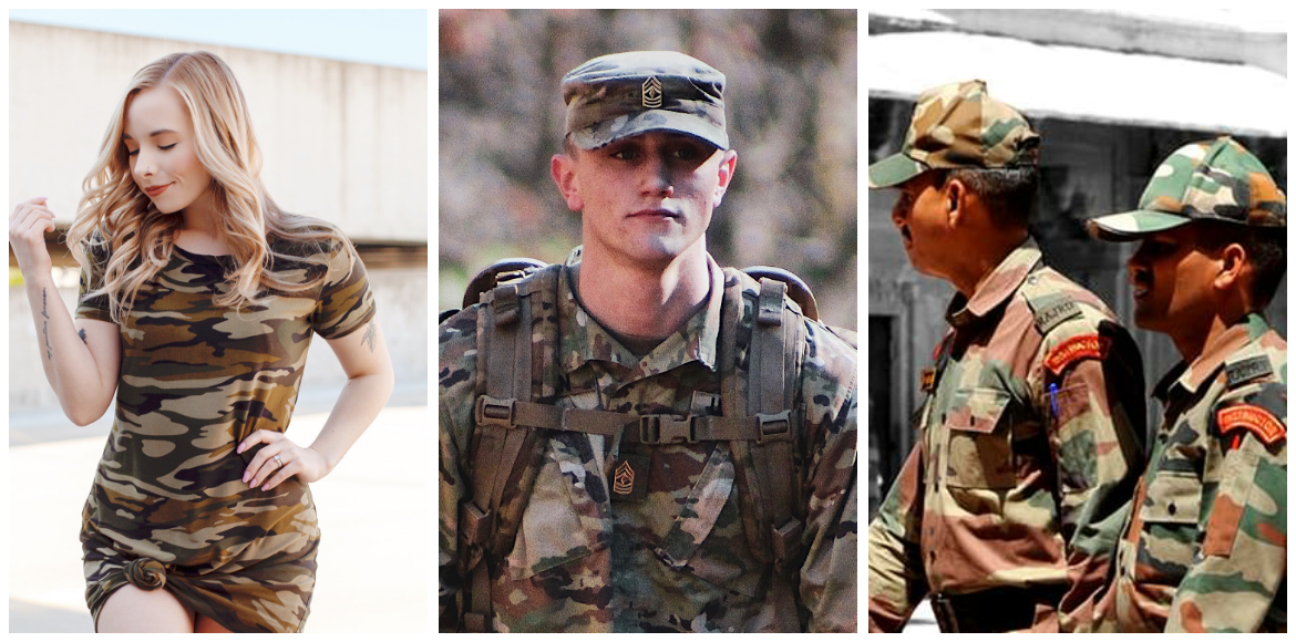 Evolution of Camouflage print: From a military uni