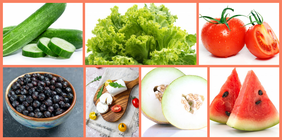 Foods to avoid dehydration