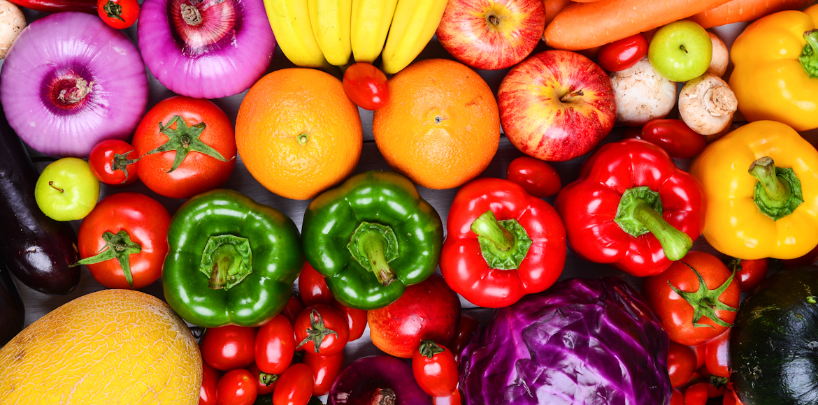 Try this colourful and healthy rainbow diet