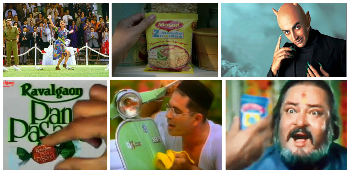 A trip down the memory lane through some iconic 90s' ads