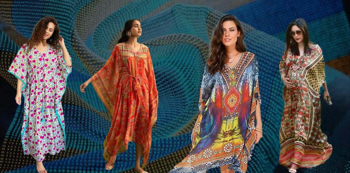 Here's why kaftans are back in fashion