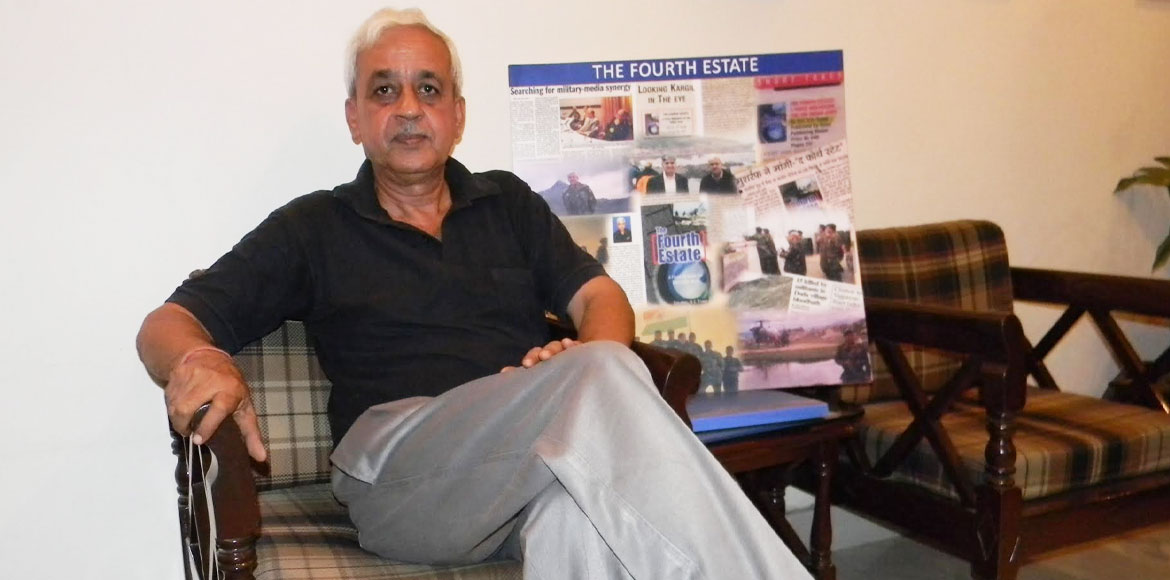 REPLUG: Kargil hero gives real account of war to youths in a book