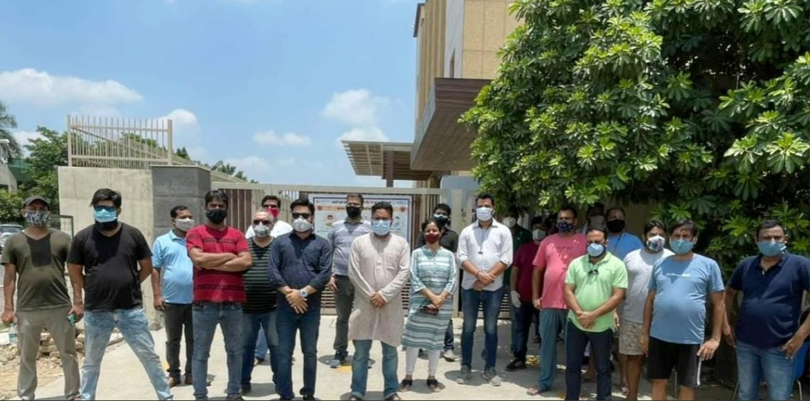 NEFOWA, RWAs protest at NPCL office against power cuts at GreNo West