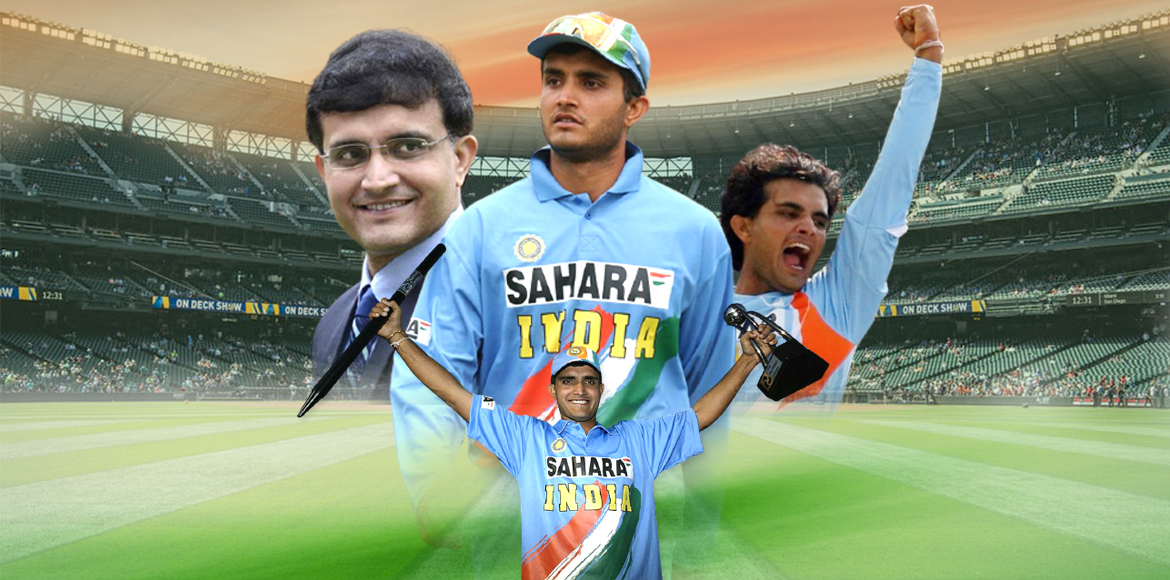 Sourav Ganguly: A classy batsman, an astute leader and a charismatic personality