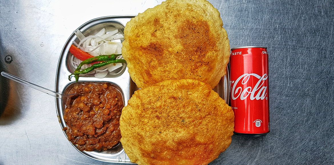 Chole Bhature and Delhi are synonymous, try these