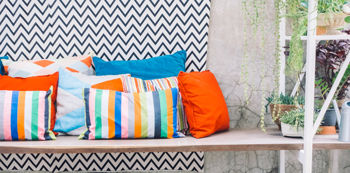 Find comfort in cushions