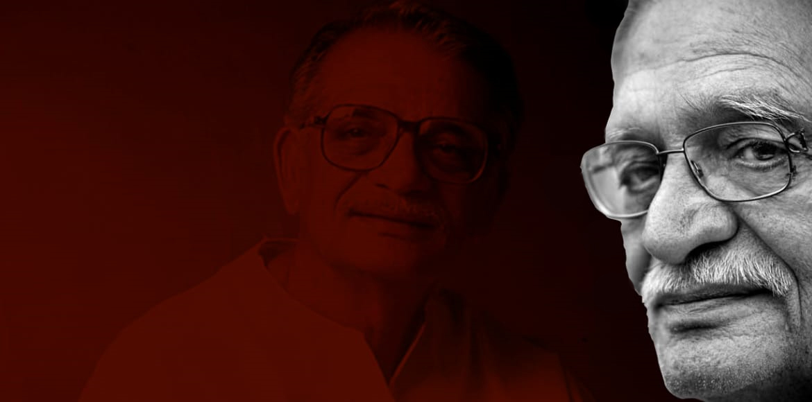 Gulzar's work and how it mirrored his life