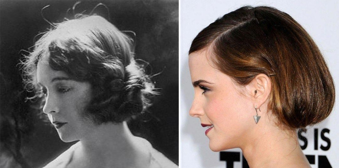 Rock your look with vintage hairstyle