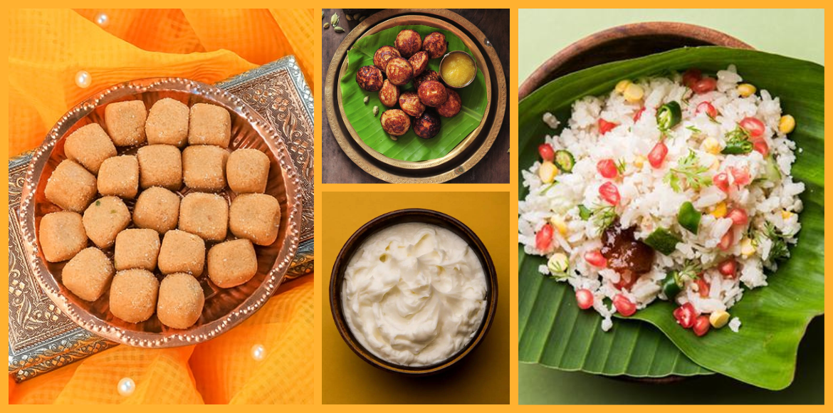 Sweet dishes prepared on Janmashtami from different states of India