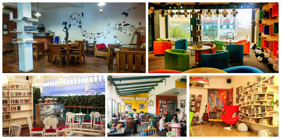 Treat the bibliophile and foodie inside you at these spots