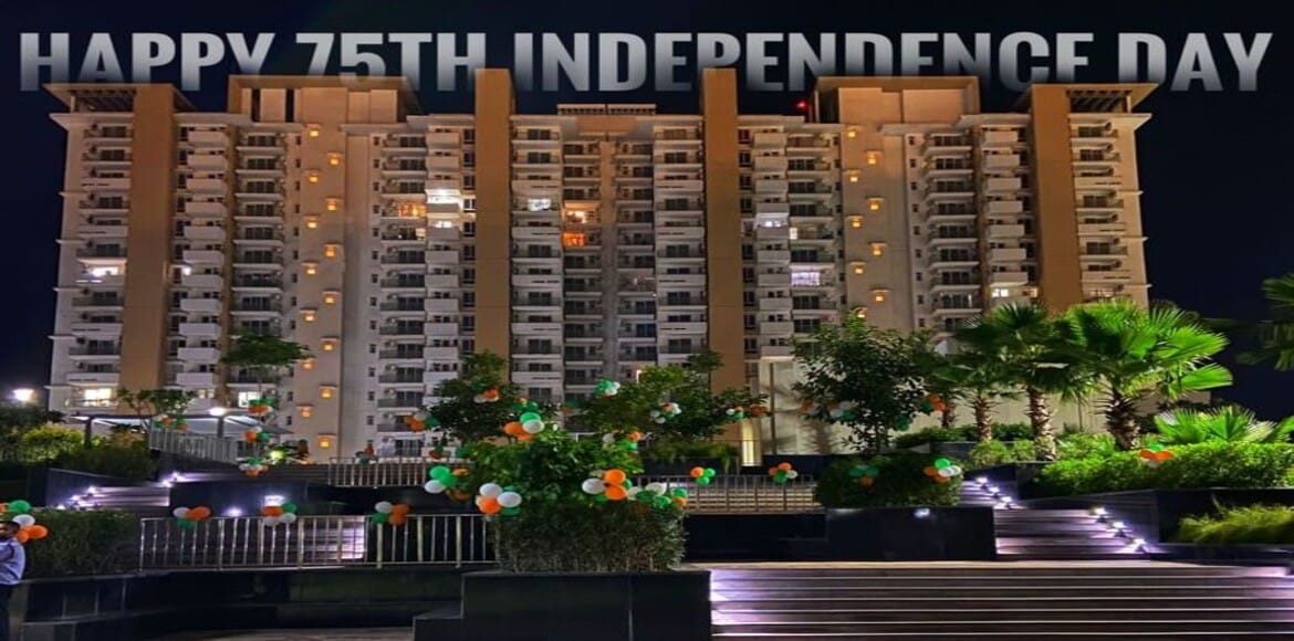 Emaar Imperial Gardens: I-Day celebrated with flag hoisting, cultural events