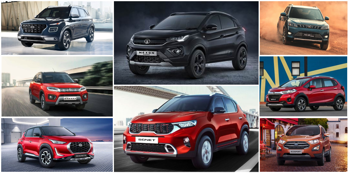 The complete guide of Indian compact SUVs