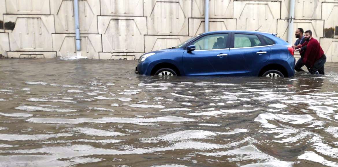 Incessant rain causes waterlogging in many parts o