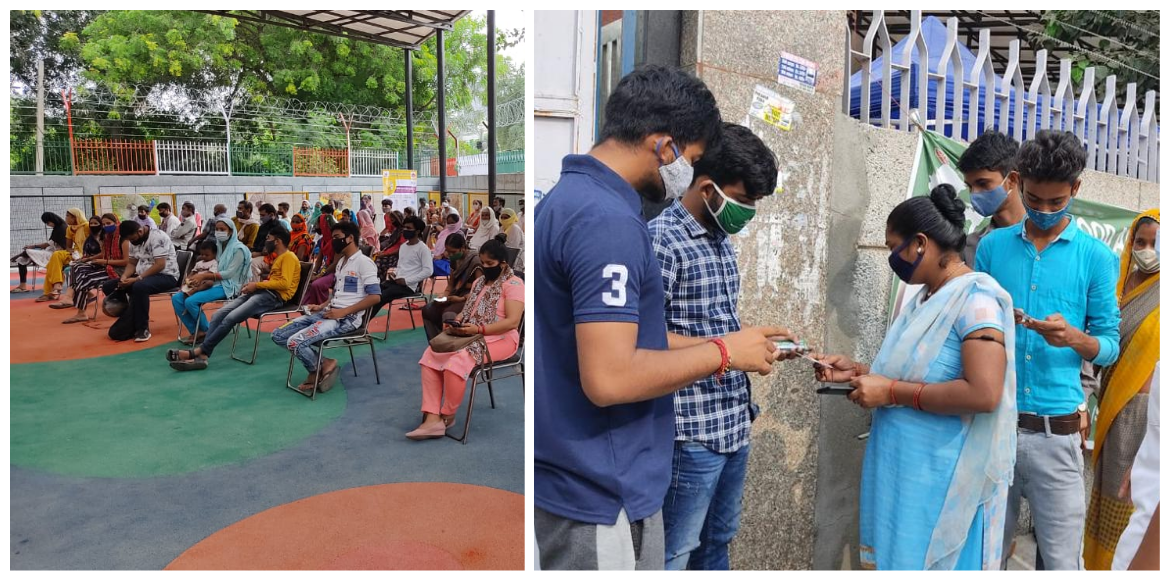 Vaccination drive for underprivileged organised in