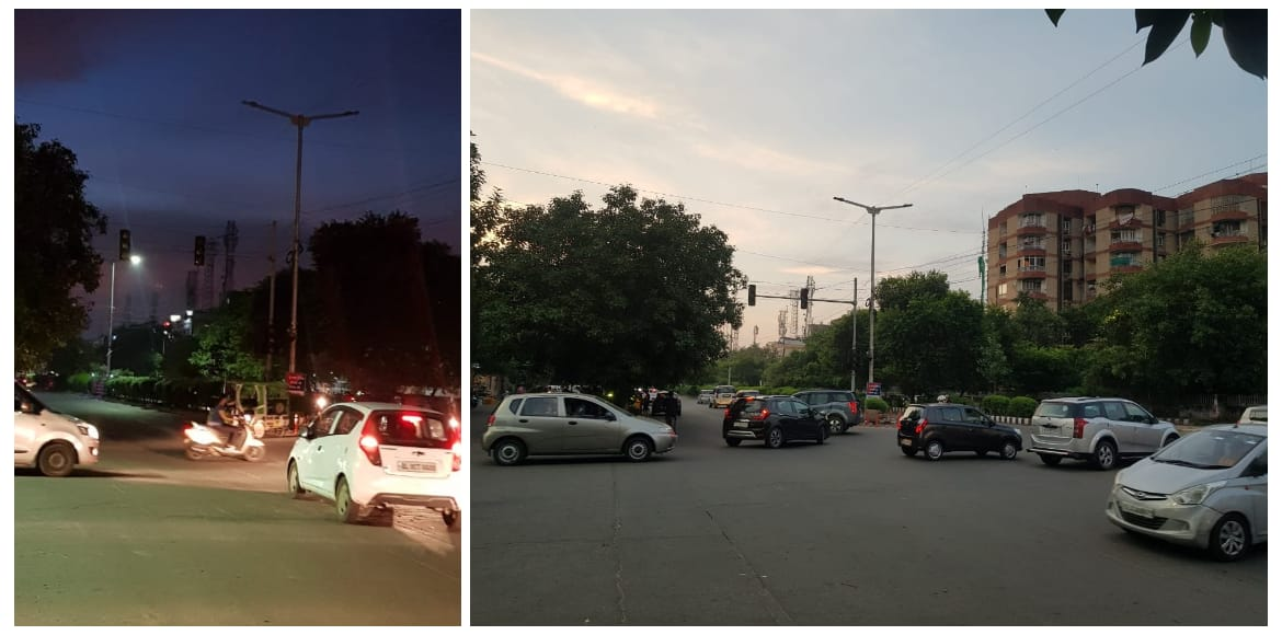 Dwarka: Non-functional traffic lights in sectors 6