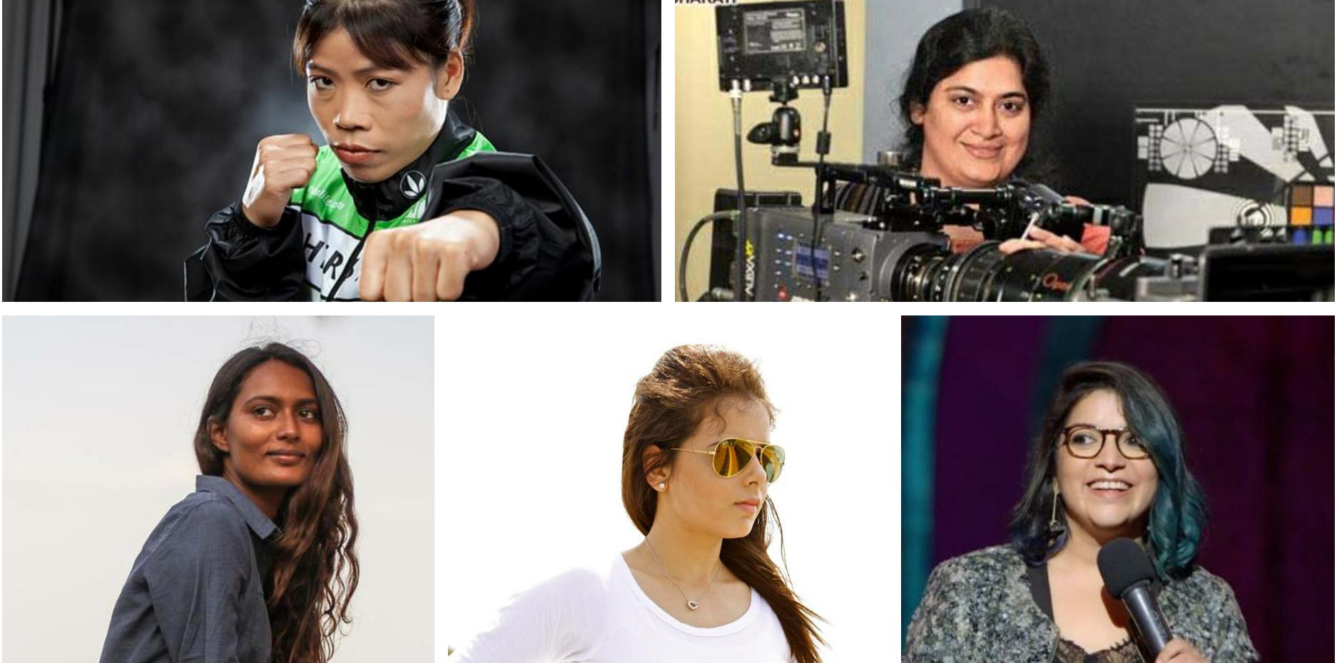 Shutting sexism: Daughters who made it big in male