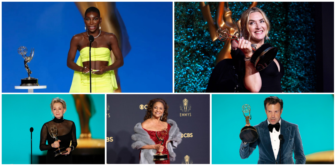 Best moments from the Emmys 2021