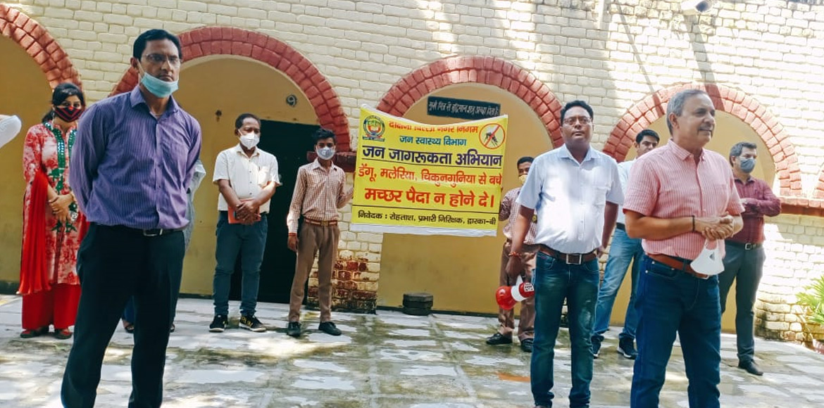 Hindi Diwas celebrated with enthusiasm at govt school in Dwarka