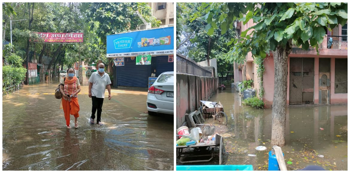 Adarsh Apartments: Life in complete disarray after rain; authorities remain apathetic