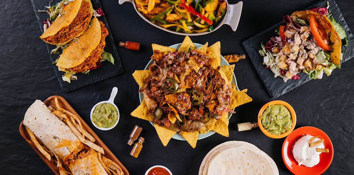 The Mexican-Indian flavour