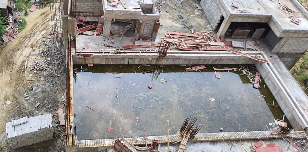 Nirala Greenshire: Stagnant water in swimming pool for last 2 months