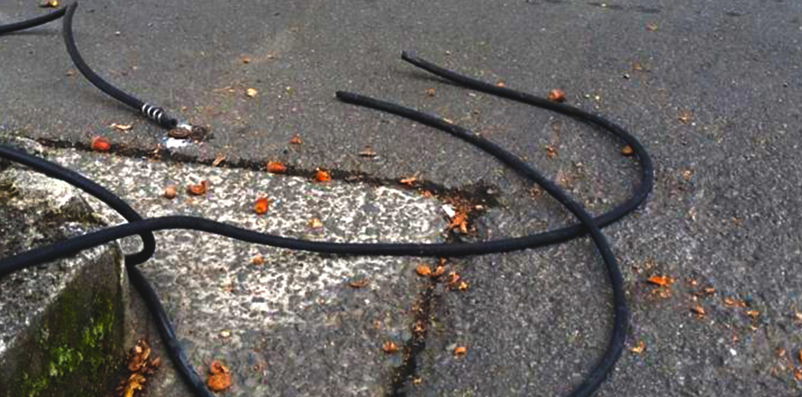 Naked wires pose electrocution risk to residents o
